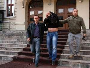 George Hodoroabă în septembrie 2010, când a fost arestat preventiv pentru acuzaţiile de viol