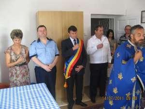 Ieri, în prezenţa oficialităţilor locale, a fost organizată inaugurarea oficială a postului montan de jandarmi de la Frasin