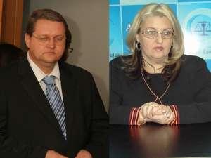 Soţii Costel şi Camelia Ignătescu