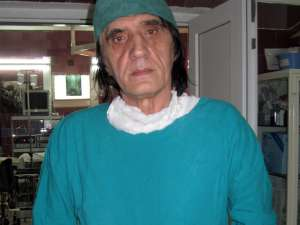 Şeful secţiei Urologie din cadrul Spitalului Suceava, dr. Nicolae Dobromir
