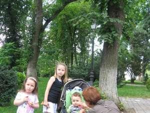 Părinţi care au scos copiii la plimbare în parc şi i-au lăsat să se joace, puşi să plătească amenzi pentru că ei sau copiii lor au călcat iarba
