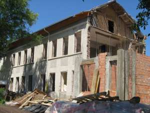Şcoala din Pătrăuţi este în stadiul de şantier