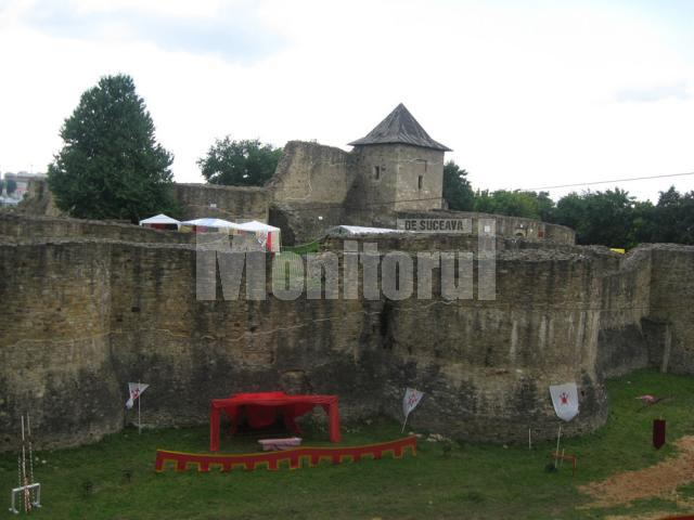 """Festivalul de Artă Medievală """"Ştefan cel Mare"""" se va desfăşura în Cetatea de Scaun a Sucevei"""