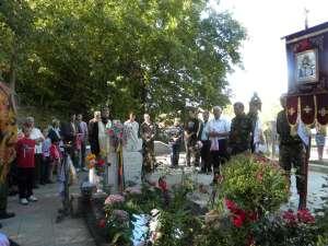 Slujbă de comemorare la patru ani de când a trecut în nefiinţă eroul Ion Grosaru