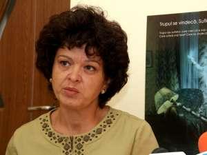 Camelia Iordache, preşedinta Organizaţiei Salvaţi Copiii – Filiala Suceava