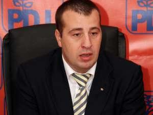 Preşedintele Organizaţiei Judeţene de Tineret a PD-L, Lucian Harşovschi