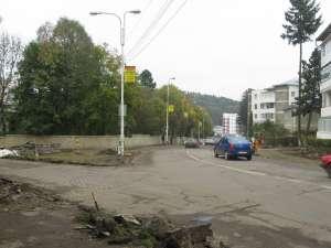 Sensul giratoriu va fi amenajat la intersecţia cu strada Ion Vodă Viteazul