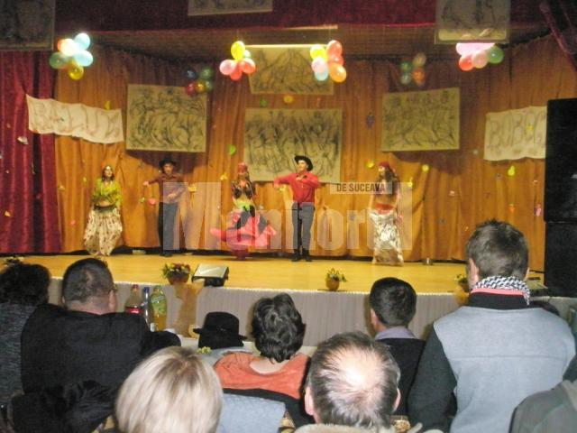 Balul Bobocilor de Grupul Şcolar Dumbrăveni