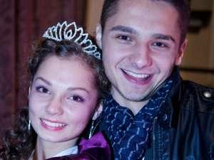 Miss Boboc, Ramona Lionti, şi Mister Boboc, Alexandru Horga sunt colegi de clasă