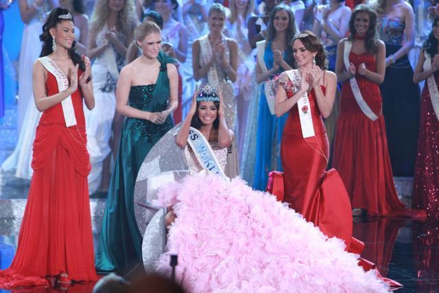 Ivian Lunasol Sarcos Colmenares, din Venezuela, a câştigat, duminică, titlul de Miss World 2011