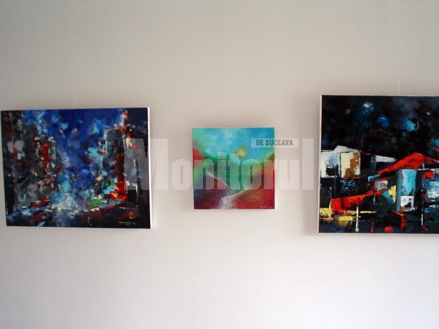 Expoziţie de pictură Carmel Georgescu