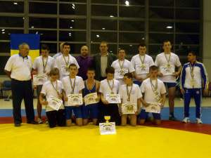 Echipa care s-a întors acasă cu medalia de bronz