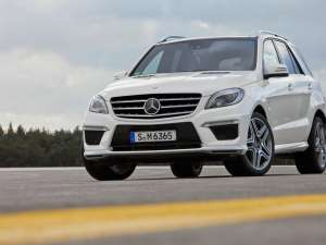 Mercedes va lansa noul ML 63 AMG la Los Angeles