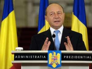 Preşedintele Traian Băsescu. Foto: Sorin LUPŞA