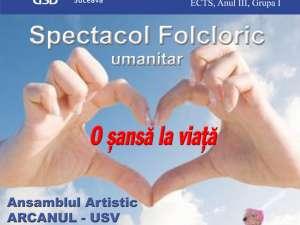 Spectacol folcloric umanitar
