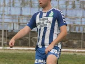 Dorian Andronic va lipsi astăzi din garnitura celor de la Sporting Suceava