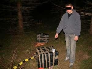 Din tot grupul, iniţial a fost prins doar unul dintre cărăuşi