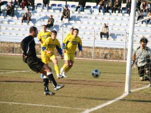 Jucătorii de la Sporting au avut numeroase oportunităţi de a marca în meciul de ieri