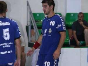 Şoldănescu revine în lotul echipei sucevene după o accidentare mai lungă