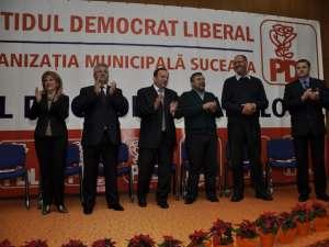 şedinţa Consiliului de Coordonare Local al  filialei PD-l din municipiul Suceava