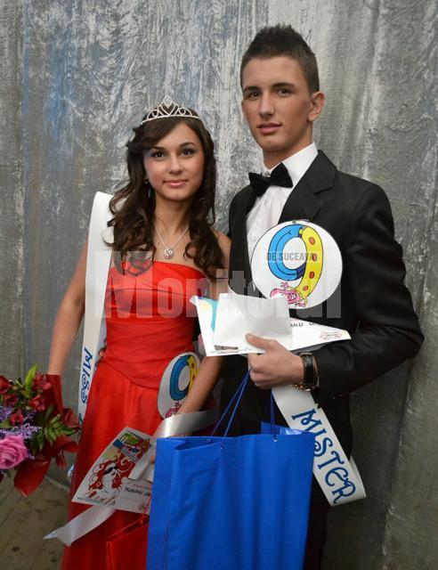 Larisa Palancanu şi Mihai Budeanu, Miss şi Mister Boboc
