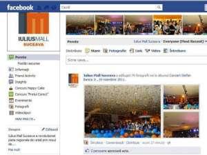 Iulius Mall pe Facebook