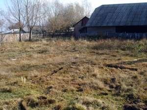 Locul în care a fost identificat tumulul de la Valea Moldovei