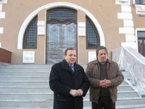 Flutur a inspectat lucrările de reabilitare a muzeului Ion Irimescu