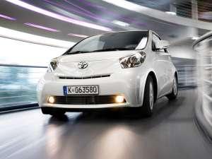 Toyota pregăteşte iQ cabrio