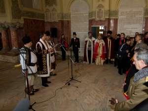 Petrea Dulgheru a prezentat mesajul Cetăţii Sucevei în Sala Unirii