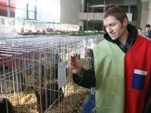 Cristi Câtea are o fermă de iepuri