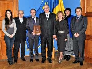 Delegaţia de la Universitatea din Cernăuţi s-a întâlnit cu ministrul Funeriu