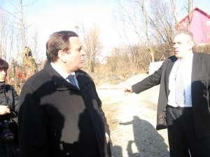 Flutur a inspectat lucrările de infrastructură din comuna Dorneşti