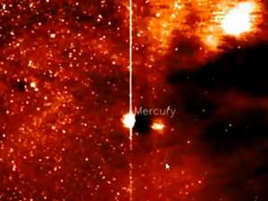 Navă extraterestră în sistemul solar? Obiect neidentificat, văzut în apropierea lui Mercur. Foto MEDIAFAX