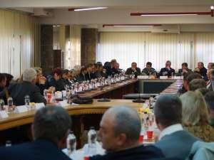 Conducerea Zonei Metropolitane Suceava, întrunită pentru prima oară