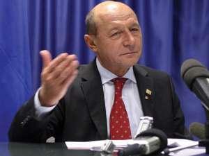 """Băsescu:""""Ţările cu acord cu FMI nu trebuie să participe la facilitatea pentru Fond, deşi puteam"""" Foto: MEDIAFAX"""