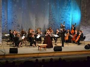 """Turneul """"Regalul Crăciun Vienez"""" în România a ajuns vineri seară şi la Suceava. Foto: orasulsuceava.ro"""
