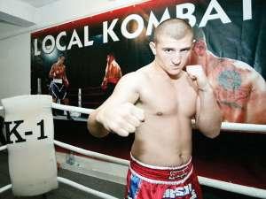 """Luptătorul Local Kombat Cătălin Moroşanu, alias """"Moartea din Carpaţi"""", va fi prezent, sâmbătă, la Suceava"""