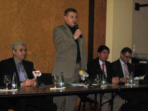 Conducerea ACET şi a Primăriei Suceava, alături de reprezentantul Dytras Spania şi a firmei de consultanţă Eptisa