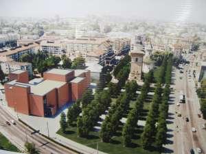 Cum va arăta centrul Sucevei după finalizarea proiectului Curtea Domnească