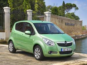 Opel Agila GPL poate parcurge 1.500 km cu un plin