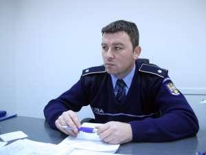Subcomisarul Petru Jucan, noul şef al Poliţiei Rutiere