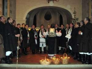 Concert de colinde în biserica românească din Geneva