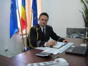 Comisarul-şef Cezar Ciorteanu, şef al noului Serviciu Judeţean al Poliţiei de Frontieră Suceava