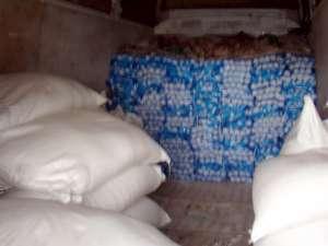 Trecere ilegală de frontieră cu usturoi şi zahăr