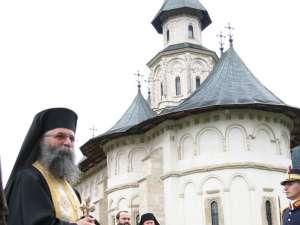 Arhimandritul Melchisedec Velnic, stareţul Mănăstirii Putna