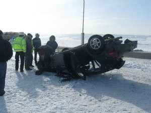 Accident petrecut la Pătrăuţi, pe DN 2, şoseaua unde anul trecut s-au înregistrat cele mai multe tragedii