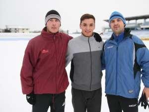 Claudiu Velescu, Sascha Marinkovic şi Mircea Negru sunt trei dintre cele patru achiziţii ale Rapidului din intersezon