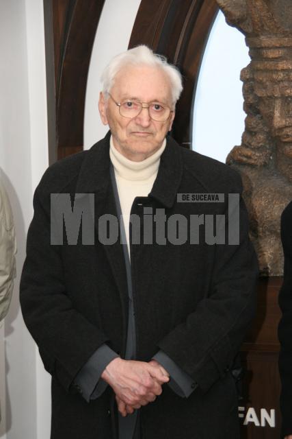 Alexandru Jauca, la vernisaj