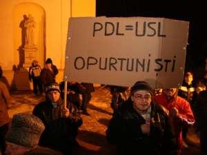 Protest la Suceava, vineri, 20 ianuarie